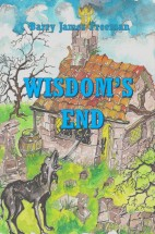 Wisdom's End 3rd Edition cover 2 blue writing
